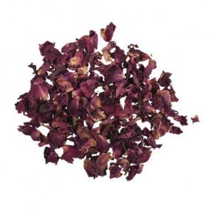 Rosenblütenblätter getrocknet rot, 3g