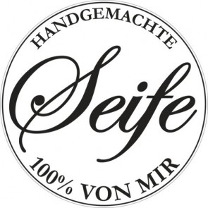Labels  Handgemachte Seife... , 45mm, 1St.