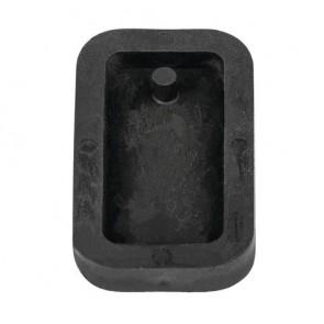 Gießform: Anhänger Rechteck, 1,9x3,9cm, SB-Btl 1Stück