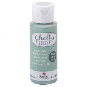 Chalky Finish for glass, mintgrün, Flasche 59ml
