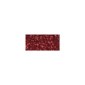 Glitter Tape, klassikrot, 15mm, Rolle 5m