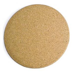 Korkscheibe, Stärke 1,5 cm, 25 cm ø