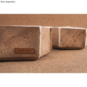 Korkstoff Natur 45x30cm gerollt, 0,5 mm Stärke, Box 1Rolle