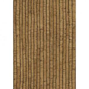Korkstoff Streifen 45x30cm gerollt, (nat./schwarz) 0,5 mm, Box 1Rolle