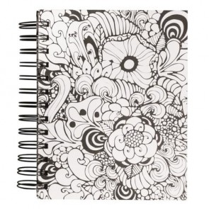 Tangle Memory Journal  Orchid  ,FSCMixCred, 15,5x18cm, 6 Fototaschen+15 Seiten