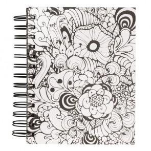 Tangle Memory Journal  Orchid  ,FSCMixCred, 15,5x18cm, 6 Fototaschen+15 Seiten