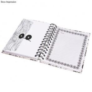 Tangle Memory Journal   Flora  ,15.5x18cm, weiß, FSC Mix Credit,6 Fototaschen+15 Seiten