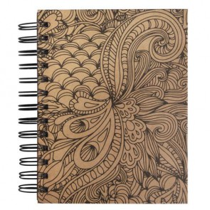 Tangle Memory Journal   Jungle  ,15.5x18cm, kraft, FSC Mix Credit,6 Fototaschen+15 Seiten