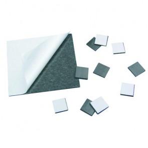 Magnetfolie, 80x75 mm,2 mm,selbstklebend, SB-Btl. 1 Stück