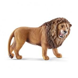 Löwe, brüllend