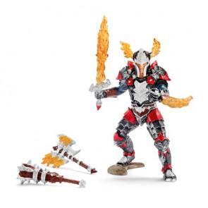 Drachenritter Held mit Waffen