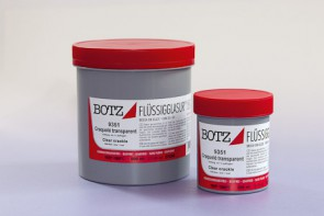 BOTZ Flüssigglasur Rosenrot 200 ml