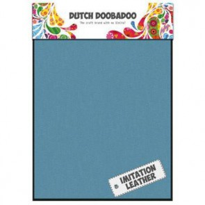 Dutch Doobadoo Imitation leather Turquoise A5 2 Stk. türkis
