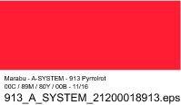 Sprühfarbe a-system, Pyrrolrot 913, 400ml
