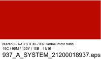 Sprühfarbe a-system, Kadmiumrot mittel 937, 400ml