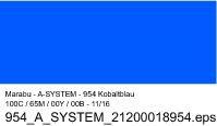 Sprühfarbe a-system, Kobaltblau 954, 400ml