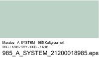 Sprühfarbe a-system, Kaltgrau hell 985, 400ml