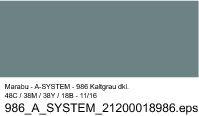 Sprühfarbe a-system, Kaltgrau dkl. 986, 400ml