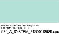 Sprühfarbe a-system, Blaugrau hell 989, 400ml