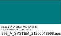 Sprüfarbe a-system, Türkisblau 998, 400ml