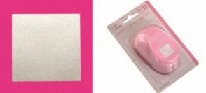 Motivstanzer XL Quadrat 1-2/5 Inch  3,5 x 3,5 cm