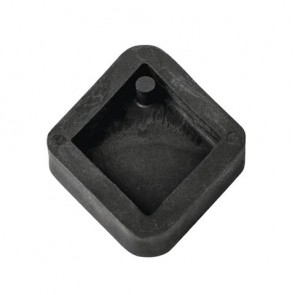 Gießform: Anhänger Raute, 2,9x3,9cm, SB-Btl 1Stück