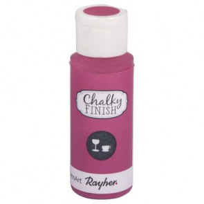 Chalky Finish for glass, pink, Flasche 59ml