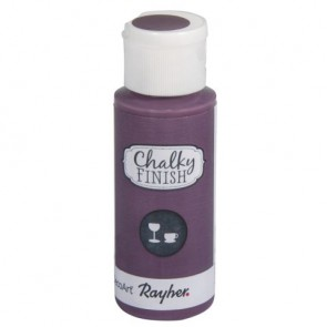 Chalky Finish for glass, brombeere, Flasche 59ml