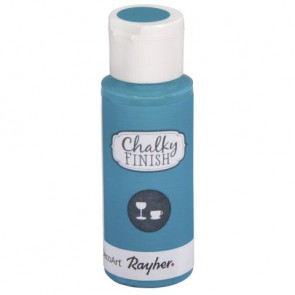 Chalky Finish for glass, lagune, Flasche 59ml