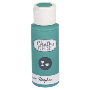 Chalky Finish for glass, meergrün, Flasche 59ml