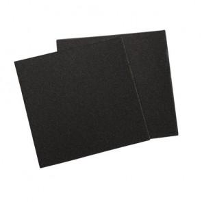 Schleifpapier, Körnung 40 er, 86x86mm, SB-Btl 3Bogen