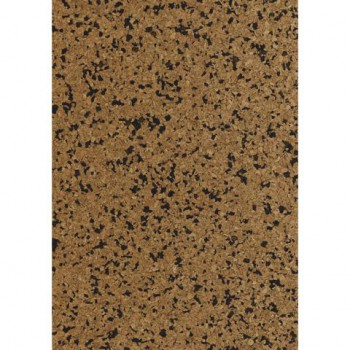 Korkstoff Granulat 45x30cm gerollt, (nat./braun) 0,5 mm , Box 1Rolle